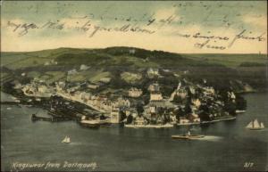 Kingswear From Dartmouth c1910 Postcard