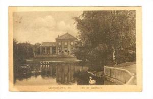 Idill Im Stadtpark, Uerdingen A. Rh., Germany, PU-1919