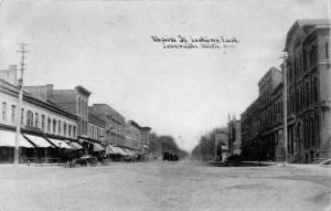 Jonesville Michigan~Main Street East~Storefronts~CU Williams Photoette~1908 PC