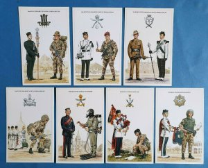 The British Army Brigade of Gurkhas Postcards Set of 7 by Geoff White Ltd