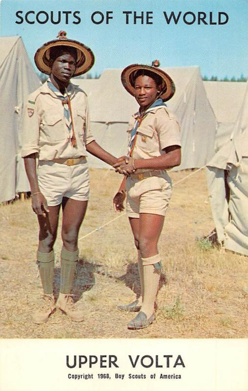 Scouts of the World: Rep. of Upper Volta, Burkina Faso