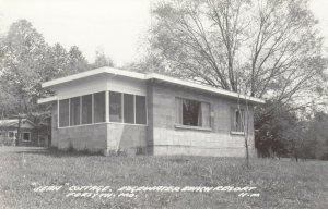RP: FORSYTH , Missouri, 1930-40s ; Edgewater Beach Resort, Jean Cottage