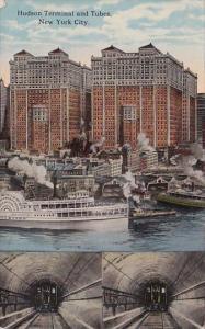 New York City Hudson Terminal And Tubes