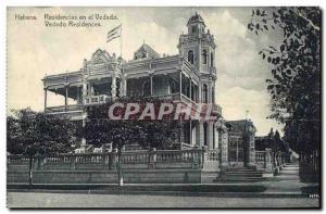 Postcard Old Havana Residencias en el Vedado Vedado Cuba Residences