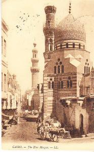 Egypt - Cairo - The Blue Mosque  1912