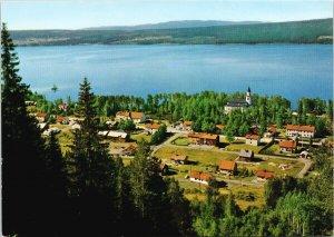 Kyrktasjo Sweden Birdseye Unused Postcard C4
