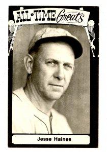 Jesse Haines, Baseball Hall of Fame