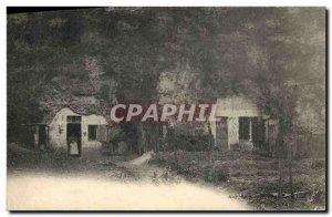 Old Postcard Folklore Habitation troglodyte
