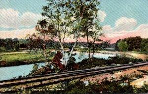 Maine Warren George's River Scene