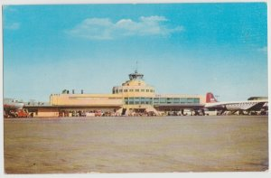 CHICAGO MIDWAY AIRPORT 1951 Postcard