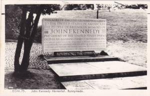 RP: John Kennedy Memorial , RUNNYMEDE , England , 1960s