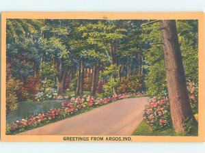 Linen COUNTRY ROAD Argos - Near Plymouth & Rochester Indiana IN AD6706