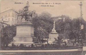 Monument Vitt. Em. II - G. Mazzini E Villetta Di Negro, Genova (Liguria), Ita...