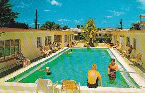 Golden Villa Motel Pool Clearwater Beach Florida
