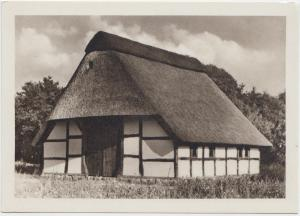 Heuerhaus im Museumsdorf, Cloppenburg, Postcard