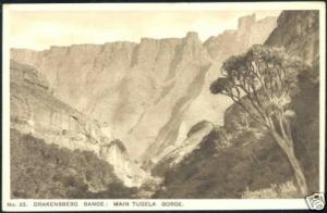 south africa, Drakensberg Range, Main Tugela Gorge 30s