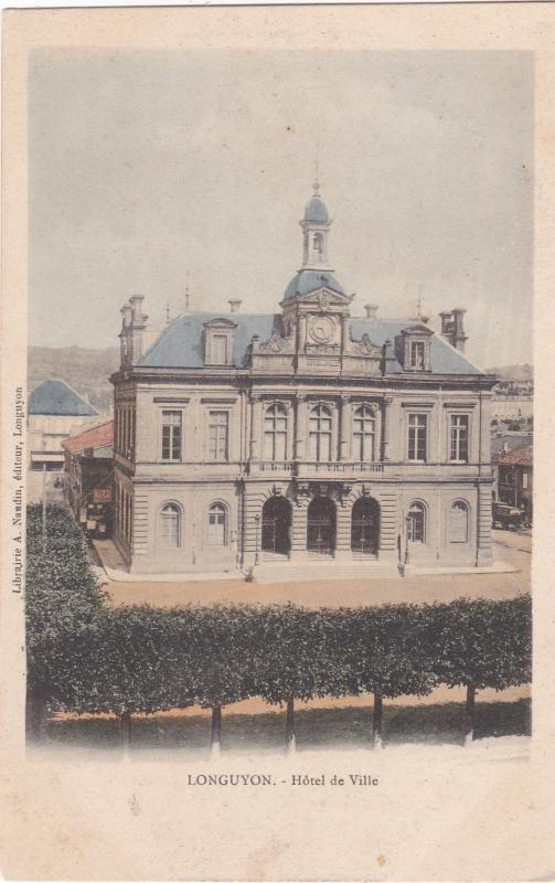 Hotel De Ville, Longuyon (Meurthe-et-Moselle), France, 1901-1907