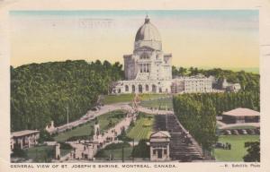 Joseph's Shrine - Montreal QC, Quebec, Canada - pm 1952