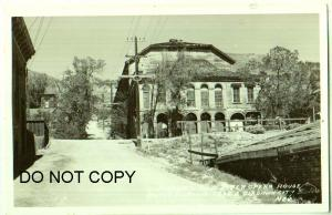RPPC, Piper Opera House, Virginia City Nev
