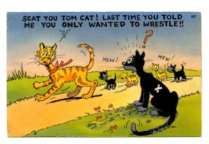 Humor - You only wanted to wrestle…