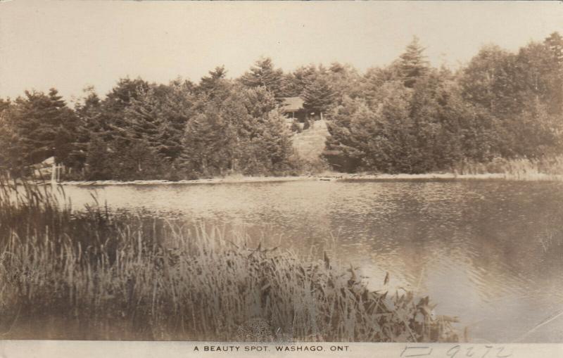 RP: WASHAGO , Ontario , Canada , 1910s ; A Beauty Spot