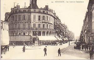 France - Bordeaux - La Cours de l'Intendance 1927