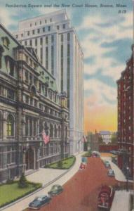 Massachusetts Boston Pemberton Square and New Court House
