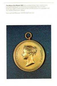 Wyon City Medal, National Postal Museum. London, England