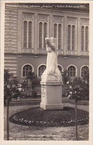 RP: Pomnik M.J.Husi odhalen Prachni v Susici, 6.cervence 1923 Czech Republic