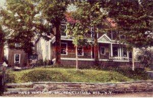 MAPLE VIEW HOUSE, BRODHEAD, CATSKILL MTS., N.Y.