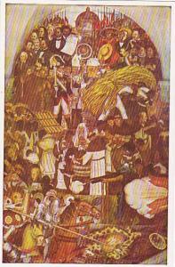 The Reforma of the laws by Benito Juarez (1857) Palacio Nacional de Mexico, 4...