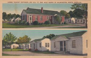 2-Views, Hobbs Tourist Cottages, North of  WILMINGTON, North Carolina, 30-40s