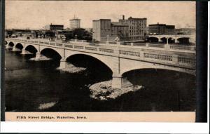 WATERLOO, Iowa; Fifth Street Bridge, PU-1911
