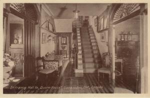 GANANOQUE , Ontario , 1900-10s ; Entrance to Quorn House
