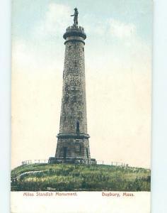 Pre-1907 MONUMENT Duxbury Massachusetts MA A2189