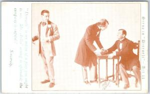 1911 Chicago GRAND OPERA HOUSE Postcard DISRAELI Play w/ Actor George Arliss