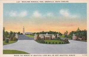 South Carolina Greenville Woodlawn Memorial Park