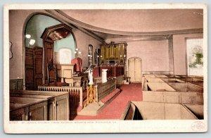 Richmond VA~St John's Church~Patrick Henry's Pew~Pipe Organ~c1910 Detroit Pub Co