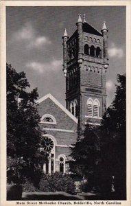 Main Street Methodist Church Reidsville North Carolina 1944