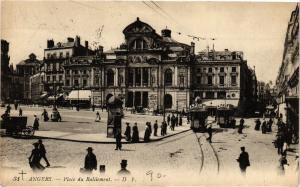 CPA Angers-Place du Ralliement (189612)