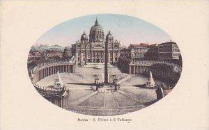 Italy Roma Rome S Pietro e il Vaticano