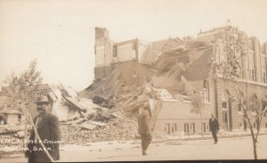 RP, REGINA, Saskatchewan, 1912; Y.M.C.A. After Cyclone