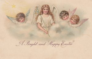 Four EASTER angels , 00-10s