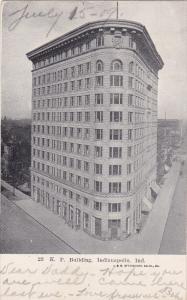 INDIANDPOLIS, Indiana; K. P. Building, PU-1909
