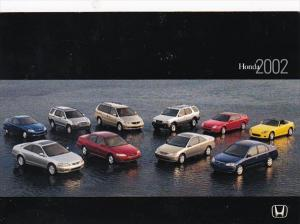 2002 Honda Vehicles