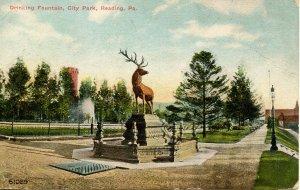 PA - Reading - Drinking Fountain, City Park