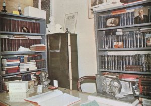 Marx Memorial Library London Vladimir Lenin Room Postcard