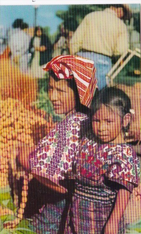 Guatemala Indian Woman San Pedro Sacatepequez