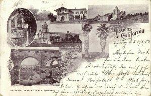 Missions of California, Mission Dolores, El Carmel Montery, San Luis Rey (1903)