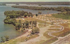 Tudhope Memorial Park,  Lake Couchiching,  Orillia,  Ontario,  Canada,   PU-1968